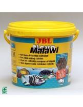 JBL NovoMalawi -Храна на люспи за растителноядни африкански цихлиди от езерата Малави и Танганайка  - 5,5 л.