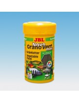 JBL NovoGranoVert mini - Храна за малки декоративни растителноядни рибки - гранули - 100 ml.