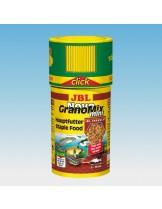 JBL NovoGranoMix mini CLICK -  храна за декоративни малки рибки гранули микс  с дозатор  - 100 ml.