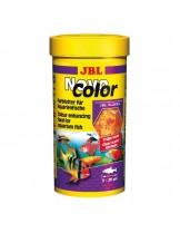 JBL NovoColor  - храна за декоративни рибки  - люспи  - 250 ml.