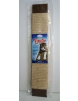 """Fiesta - Драскалка """"Стандарт"""" за котка - с котешка трева -  бяла или бежава - 50 х 8 см."""