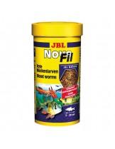 JBL NovoFil - Храна за декоративни рибки Вакуумирани и замразени изсушени ларви на червени комари - 100 ml.
