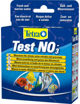 Tetra test NO3  - тест за определяне нивото на нитратите във водата в аквариума