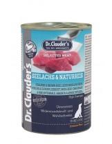 Dr. Clauder's - Selected Meat Seelachs Naturreis Pre Biotics - Високо качествена храна за възрастни кучета с американска треска и кафяв ориз - 800 гр.