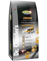 Dr. Clauder's - Premium Junior Large Breed/Giant – Супер премиум суха, гранулирана храна за подрастващи кучета от големи/много големи породи - 4 кг.