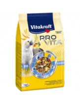 Vitakraft PRO VITA - пълноценна ежедневна храна за средни папагали - корела и какаду - 0.800 кг.