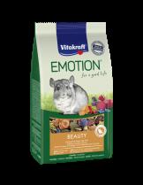 Vitakraft Emotion Beauty Selection All Ages - Пълноценна, ежедневна храна за чинчили от всички възрасти - 0.600 кг.
