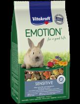 Vitakraft Emotion Sensitive All Ages - Пълноценна ежедневна храна за капризни декоративни зайци от всички възрасти - 0.600 кг.