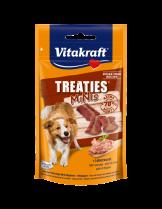 Vitakraft TREATIES MINIS - Лакомства за кучета - сочни хапки с лебервурст - 48 гр.