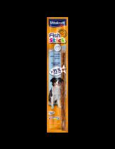 Vitakraft Fish Stick - Лакомства за кучета - Саламена пръчица със сьомга - 1 бр. - 15 гр.