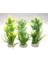 Sydeco -Aquaplant X Medium - Изкуствено аквариумно растение - 23 см. - различни цветове