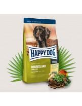 HAPPY DOG Sensible Nutrition Neuseeland - Сюприйм Нюзийланд - за чувствителни и алергични кучета над 1 година с агнешко, сьомга, билки, ориз и екстракт от зеленоусти миди - 4 кг.