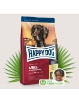 HAPPY DOG Sensible Nutrition Africa - Сюприйм Африка - за чувствителни и алергични кучета над 1 година с месо от щраус и картофи - 1 кг.