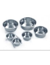 Karlie Bowls stainless steel - метална купа за храна и вода - 0,75 л.