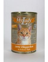My Lady classic - консерва за котка с пуешко и патешко месо - 415 гр.
