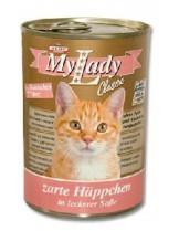 My Lady classic - консерва за котка със заешко месо и сърца - 415 гр.