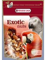 Versele Laga  Exotic Nuts - висококачествена  отлично балансирана премиум клас храна за големи папагали  с ядки - 0,750 кг