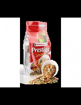 Versele Laga Prestige Snack Parakeets - допълваща, балансирана и деликатесна храна (снакс) за средни папагали с плодове и яйца - 125 гр. - нов код 422259