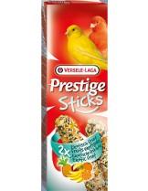Versele Laga  Prestige Sticks Tropic Fruits  - лакомство за декоративни птици крекери за канарчета с тропически плодове 2 бр. по 30 гр.