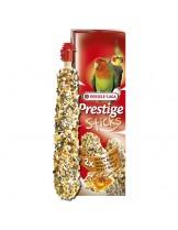 Versele Laga  Prestige Sticks nuts&Honey  -  лакомство за декоративни птици крекери за средни папагали  с мед и ядки 2 бр. по 70 гр.