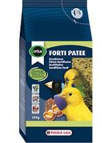Versele Laga  Forti Patee - Отлично балансирана енергийна храна за дребни папагали, канари и дрбни екзотични птици, обогатена с мед и сушени плодове - 1 кг