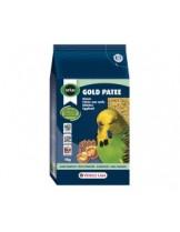 Versele Laga Gold Patee Small Parakeet - балансирана и мека яйчна храна за малки папагали - 250 гр.  - нов код 424048