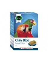 Versele Laga Clay Bloc Amazon River  - глинено блокче, добавка за средни и големи папагали - 550 гр.