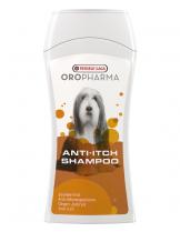 Versele Laga  Anti-Itch Shampoo - успокояващ шампоан с естествени екстракти и алантоин, успокоява сърбежа и хидратира кожата - 250 ml.