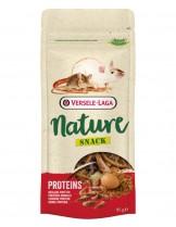 Versele Laga Snack Proteins - вкусно лакомство с животински протеини за порчета, мишки, таралежи и хамстери - 85 гр.