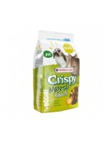 Versele Laga Crispy Muesli - Rabbits (Cuni Crispy) - балансирана и пълноценна храна за декоративни зайци - 2.75 кг.