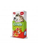 Versele Laga Crispy Crunchies Fruit - хрупкави хапки с плодове за зайци, чинчили, хамстери и други малки животни - 75 гр.
