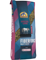 Cavalor - Fiber Force - храна богата на мазнини, които са безопасен източник на енергия за коне с мускулни нарушения - 15 кг.