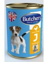 Butchers Life Junior with chicken -високо качествена храна за кученца от 1 до 6 месеца с пилешко месо - 0.400 кг.