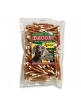 Chicken light Bacon - лакомство за кучета - пръчици обвити с пилешко месо - 1 кг.