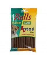 Antos - Rolls - меки солети за тренировка с агнешко - 20 бр. - 200 гр.