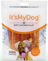 It's My Dog Chicken Soft Fillet Grain Free - Лакомство за куче от чисто месо , без зърно - с меко пилешко - 85 гр.
