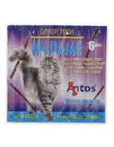 Antos Cat Soft Sticks Madame Salmon&Trout - лакомство за котки пръчици със сьомга и пъстърва - 6 бр.