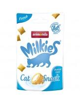 Animonda Milkies Fresh - неустоим снакс за котка, хрупкави хапки с млечен пълнеж - 30 гр.