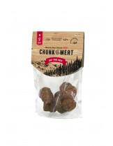 Genesis Chanks of Meat Duck Grain Free - мек снакс - неустоимо лакомство за кучета с патешко месо (95% свежо месо) монопротеин - 80 гр.