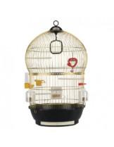 Ferplast - CAGE BALI BRASS - клетка за декоративни птици  - Ø43,5xH 68,5 см