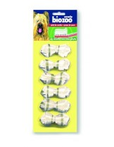 BioZoo - Вързан кокал с мента и хлорофил - 6 бр.
