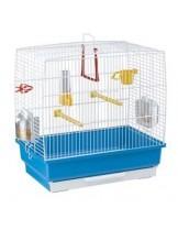 Ferplast - CAGE REKORD 2 WHITE - клетка за декоративни птици 39x25x41 см. (с поръчка)