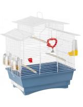 Ferplast CAGE PAGODA WHITE - клетка за по-дребни декоративни птици 47x29,5x50 cm.