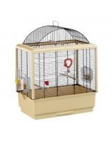 Ferplast - CAGE PALLADIO 3 BLACK - оборудвана клетка за птици  с размери - 49х30х65 см