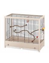 Ferplast Giulietta 6 - клетка за малки птици - канарчета, финки, вълнисти папагали и екзотични птици, 81х41х64см