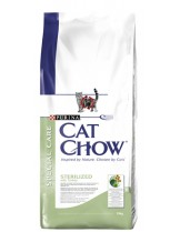 Cat chow Sterialised - за кастрирани котки над 1 година - 15кг.