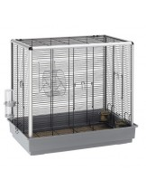Ferplast CAGE SCOIATTOLI KD GREY - клетка за катерици, порчета и гризачи  - 80х50хh76,5 см.