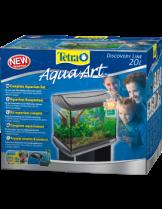 Tetra AquaArt Aquarium Complete Set - 706381 - напълно оборудван аквариум с обем - 39х27.5х32 см. - 20 л.