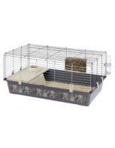 Ferplast -CAGE RABBIT 100 - клетка за зайци  с размери - 95х57х46 см
