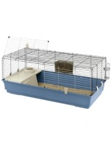 Ferplast -CAGE RABBIT 120 - оборудвана клетка за зайци  с размери - 118х58,5х51,5 см